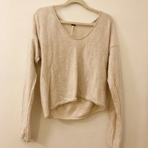 Women's Free People crop sweater size S